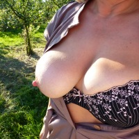 Very large tits of my ex-girlfriend - Susana