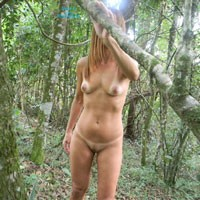 Hana Came Back - Brunette Hair, Nude In Public, Pussy Lips, Shaved, Small Tits