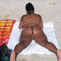 Miami Beach - Beach, Bikini Voyeur, Big Tits, Brunette, Public Place, Wife/Wives