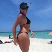 Miami Beach Pt 2 - Beach, Bikini Voyeur, Big Tits, Brunette, Pussy, Shaved, Wife/Wives