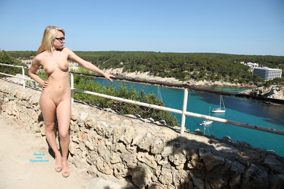 Pic #3 19 yr old Chloe Exploring 1 - Blonde, Public Exhibitionist, Public Place, Teens, Pussy, Shaved