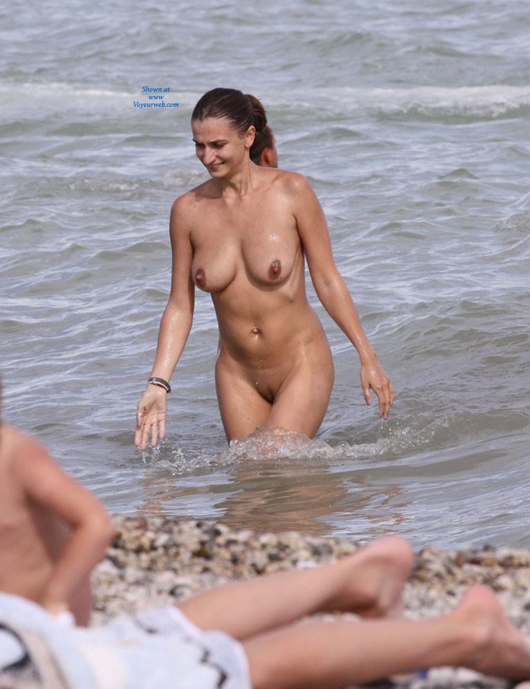 Sexy Milf - Beach Voyeur , Black Sea... Sexy Milf