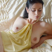 Mysterious Veronik - Big Tits, Brunette Hair, Pussy Lips, Shaved, Sexy Lingerie