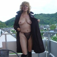 Mature Slut - Blonde, Mature, Bush Or Hairy
