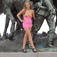 Molly's Statue Pics - Big Tits, Blonde Hair, Nude In Public, Pussy Lips , So This Is A Set Of Pictures That Was Taken A Few Months Back. They Were Taken At Liberty Memorial, In Kansas City MO. I Hope You All Enjoy Them. MUAH!!!