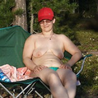 A Trip To The Woods - Big Tits, BBW, Nature