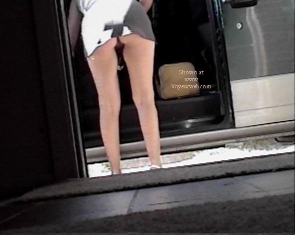 Pic #5 - Texas GF short skirt Part 2