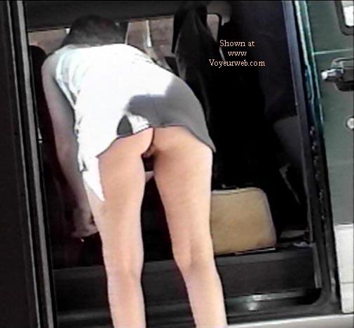 Pic #7 - Texas GF short skirt Part 2