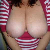 Very large tits of my wife - Britsgal