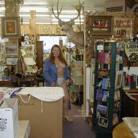 Antique Shopping With Redhead In Seattle