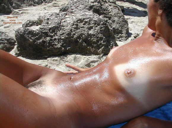 Pic #10 - Sexy Lucy Naked On The Beach