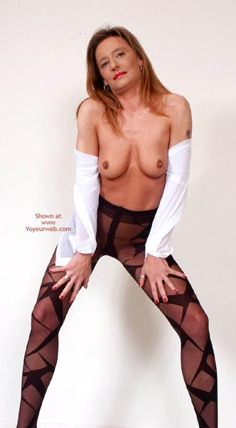 Pic #3 - Susy Rocks Striptease For The Pantyhoselovers