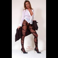 Susy Rocks Striptease For The Pantyhoselovers