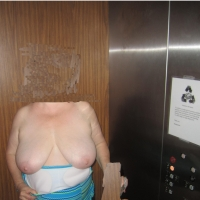 Very large tits of my wife - Mature wife 57