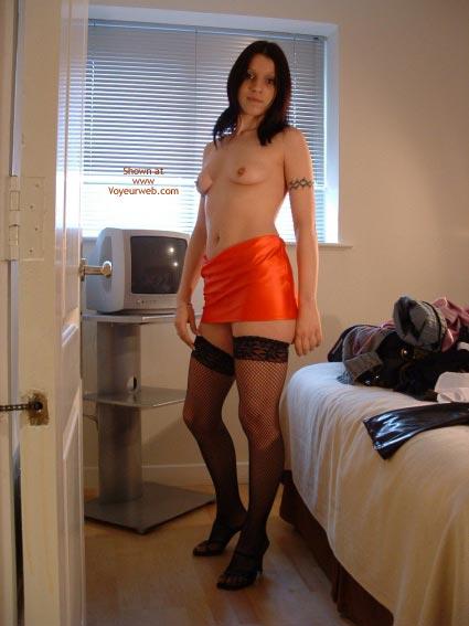 Pic #8 - English Schoolgirl In Mini And Stockings