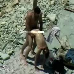 Fucking On Nude Beach #5