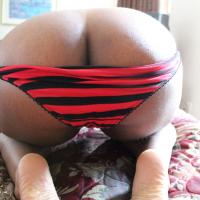 New Booty - Big Ass, Ebony, Lingerie
