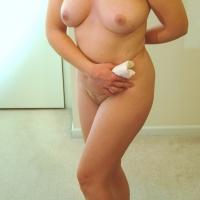 Medium tits of my wife - Kacey