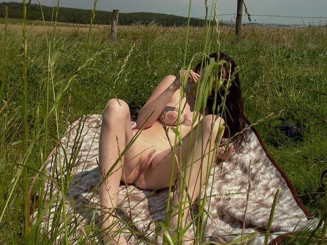 "Pic #1 - Landing Strip Pussy - Brunette Hair, Landing Strip, Spread Legs, Trimmed Pussy, Naked Girl, Nude Amateur , Legs Spread Showing Pussy, Naked In Camo Grass, Naked Woman On Blanket, Recling Nude In Field With Legs Apart, Laying In Field Nude, Nude In Field On Blanket, Nude Outside, Nude In Nature, Snatch In The Grass, Landing Strip"" Shave Job, Brunette Outdooors Laying On Blanket Nude Knees Bent, Reclining, Propped With An Elbow, Face Covered Up"