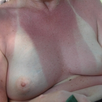 Small tits of my wife - Bashful granny