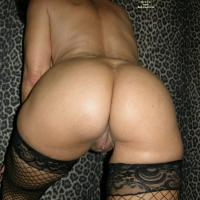 Ass Shots in Fishnets - Lingerie, Big Ass