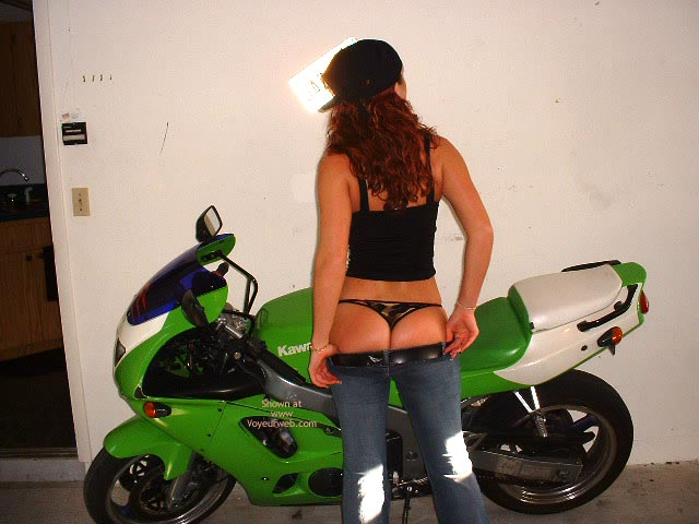 Pic #2 - Ivy With Sport Bike