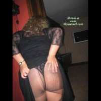 Big Breasted Wife's Ass And Panties
