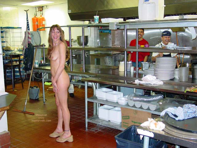 Pic #1 - Nude In Kitchen - Long Hair, Nude In Public, Small Tits , Nude In Kitchen, Indoor Nude, Nude In Public, Long Blonde Hair, Small Tits