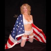 Hot Patriotic Blonde