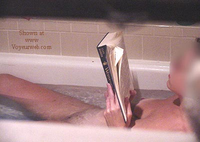 Pic #3 - *TW neighbor in tub reading