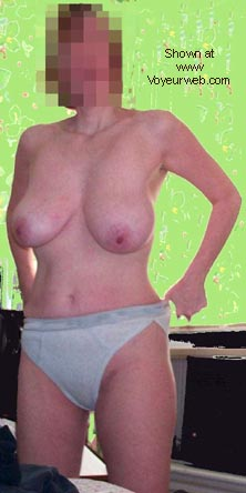 Pic #1 - Busty Wife's First Time