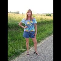 Natalie On Asphalt Road