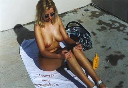 Pic #7 - Suzy On Terrace 02 - DE