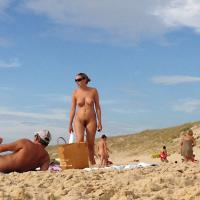 Playing at The Nude Beach - Beach