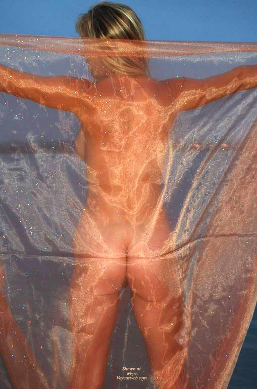 Pic #1 - Nude From Behind - Spread Legs, Naked Girl, Nude Amateur , Sheer Back Nude, Horizontal Butt Cleavage, Nude, Sheer Delight, Sheer Ass Shot, Standing, Arms Spread, Arms And Legs Spread, See Through Sheet, Standing With Arms Out (from Behind)