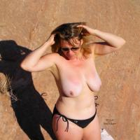 Wifes First Posting - Big Tits, Outdoors
