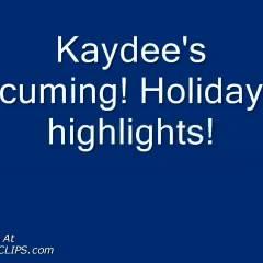 Kaydee's Holiday Fun