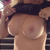 Medium tits of my wife - Mife