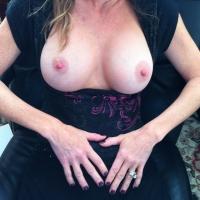 Medium tits of my wife - milfNurse