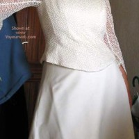 Lisa In Wedding Clothes