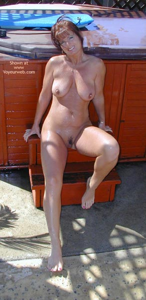 Pic #8 - *Hv Tm Works On Car And Waters Yard Nude