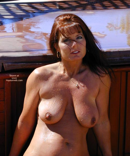 Pic #9 - *Hv Tm Works On Car And Waters Yard Nude
