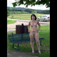 Alex Naked In The Public Day And Night