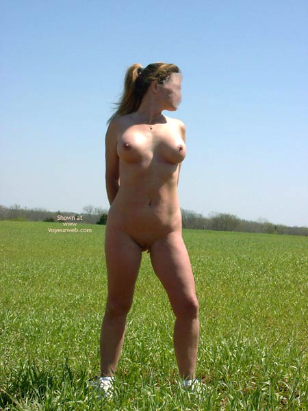 Pic #4 - Playing In A Farmers Field