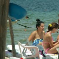 2 Russian Girls On Skanes Beach