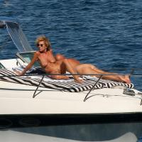 Naked on a Boat - Outdoors