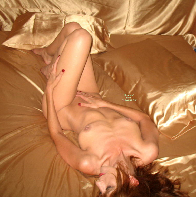 Pic #1 - Lying Nude Girl On Silk Sheets - Naked Girl, Nude Amateur , Goldfinger, Cute Redhead With Nice Tits, Redhead On Satin, Classic On Bed, Looking Away From Camera, Lying On A Bed, Naked Wife On Bed, Satin Sheets, Nude Girl Portrait On Bed, Laying On Satin Sheets, Artistic On Bed, Knees Propped Up, Nude On Gold Satin Sheets, Naked Girl Lying Down, Amazing Nipples, Lying Down, Reclining Nude, Golden Hues, Slim And Trim, Ravishing Readhead