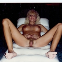 Medium tits of my wife - blondy
