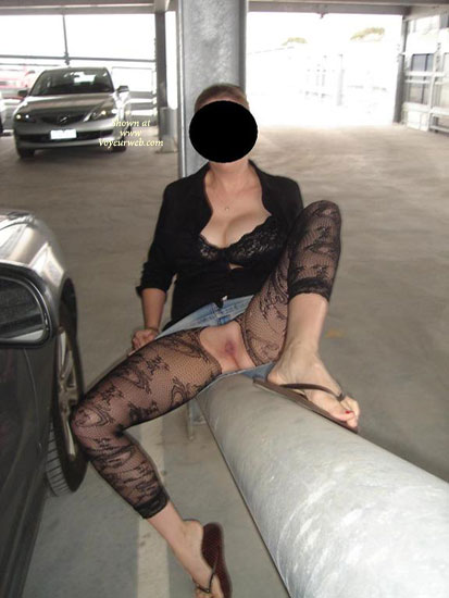 Pic #1 - Love Flashing , Just Some Out And About Flashing To Hubby