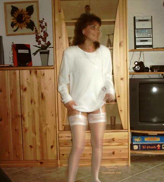Pic #1 - Rita Completely Dances In White.